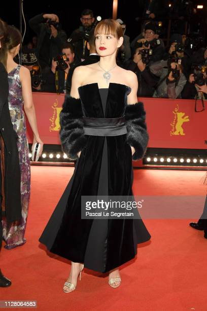 Emilia Schuele attends the opening ceremony and The Kindness Of Strangers premiere during the 69th Berlinale International Film Festival Berlin at...