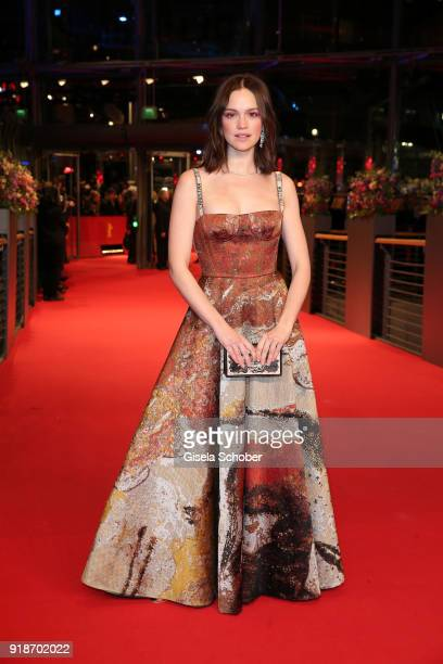 Emilia Schuele attends the Opening Ceremony 'Isle of Dogs' premiere during the 68th Berlinale International Film Festival Berlin at Berlinale Palace...