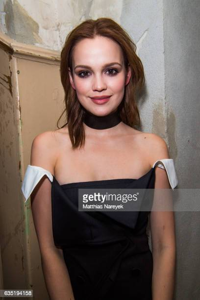 Emilia Schuele attends the Pantaflix Party during the 67th Berlinale International Film Festival Berlin at the Grand on February 13, 2017 in Berlin,...