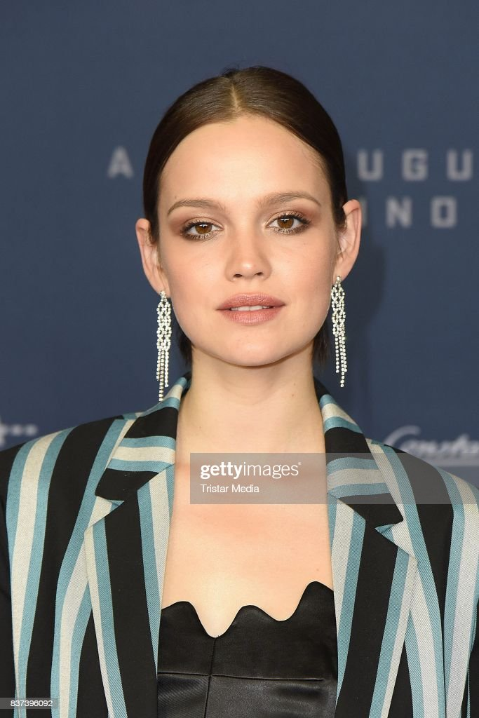 Emilia Schuele attends the premiere of 'Jugend ohne Gott' at Zoo Palast on August 22, 2017 in Berlin, Germany.