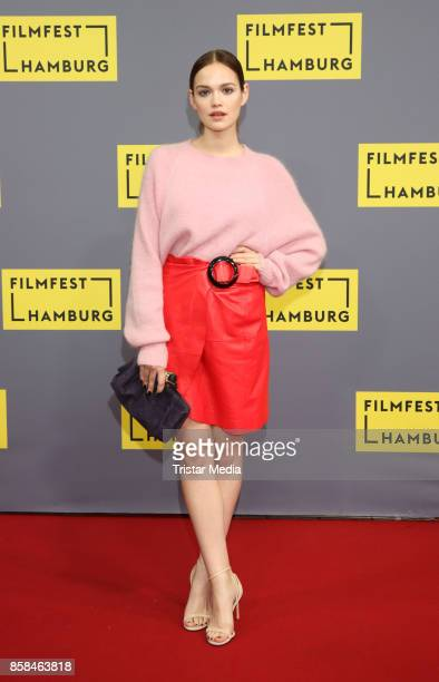 Emilia Schuele attends the premiere of 'Simpel' at Film Festival Hamburg on October 6 2017 in Hamburg Germany