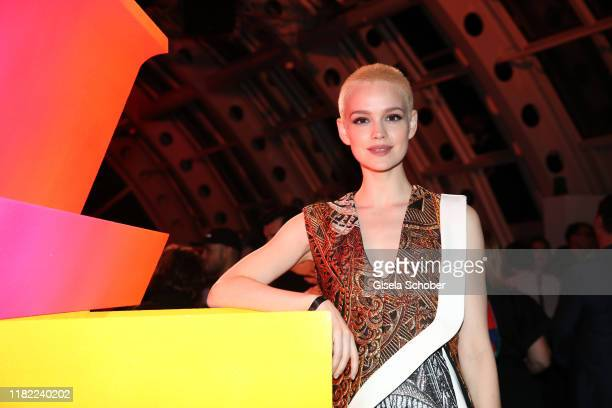 Emilia Schuele during the Louis Vuitton Store opening at KaDeWe on November 12, 2019 in Berlin, Germany.