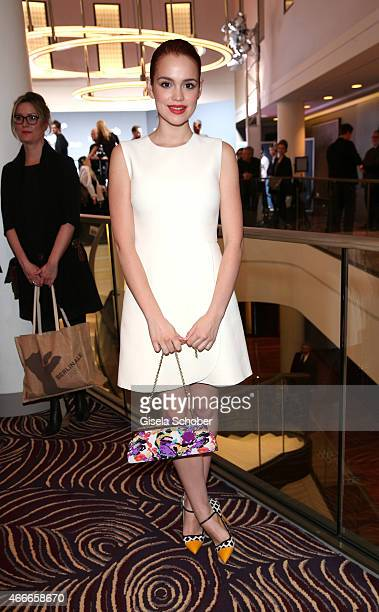 Emilia Schuele during the PEOPLE Magazine Germany launch party at Waldorf Astoria on March 17 2015 in Berlin Germany