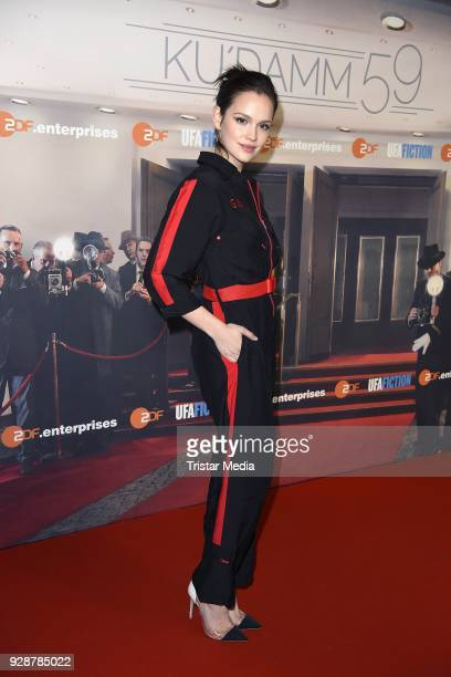 Emilia Schuele during the premiere of 'Ku'damm 59' at Cinema Paris on March 7 2018 in Berlin Germany