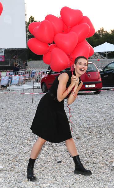 """DEU: Filmfest Muenchen Pop-Up Premiere """"Hello Again – Ein Tag für immer"""""""
