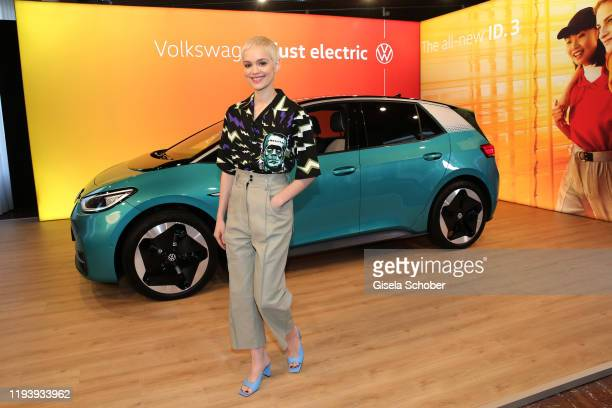 Emilia Schuele during the VW at Instyle Lounge event as part of the Berlin Fashion Week Autumn/Winter 2020 at Cafe Moskau on January 15, 2020 in...