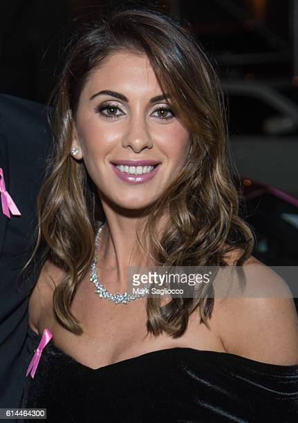 Emilia Serhant attends The Pink Agenda 2016 Gala at Three Sixty on October 13 2016 in New York City