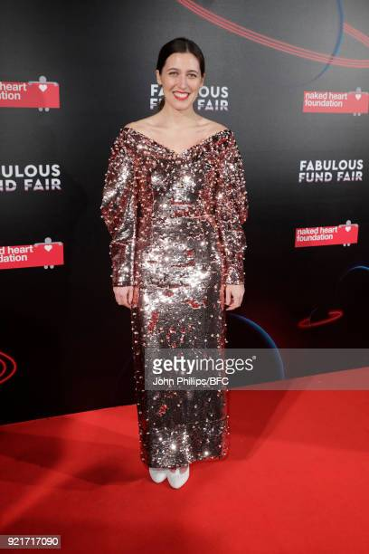 Emilia Wickstead attends the Naked Heart Foundation's Fabulous Fund Fair during London Fashion Week February 2018 at The Roundhouse on February 20...