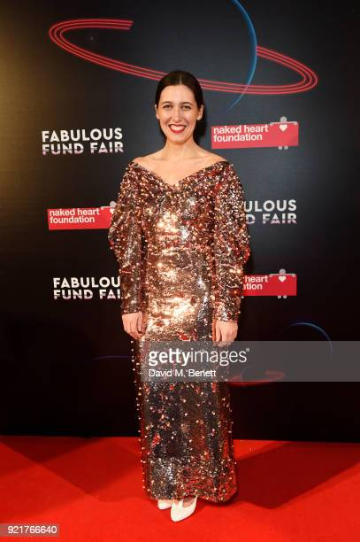 Emilia Wickstead attends the Naked Heart Foundation's Fabulous Fund Fair at The Roundhouse on February 20 2018 in London England