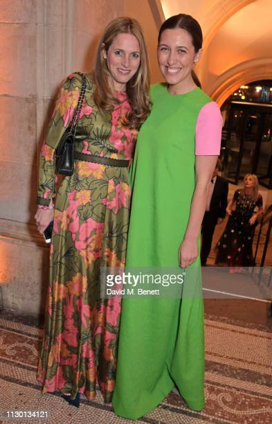 Emilia Wickstead attends The Portrait Gala 2019 hosted by Dr Nicholas Cullinan and Edward Enninful to raise funds for the National Portrait Gallery's...