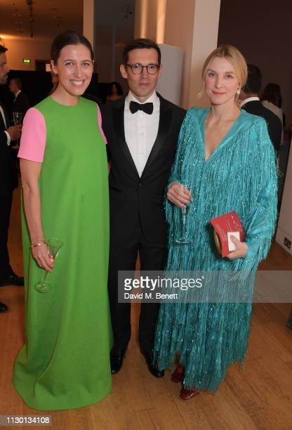 Emilia Wickstead Erdem Moralioglu and Lady Laura Burlington attend The Portrait Gala 2019 hosted by Dr Nicholas Cullinan and Edward Enninful to raise...