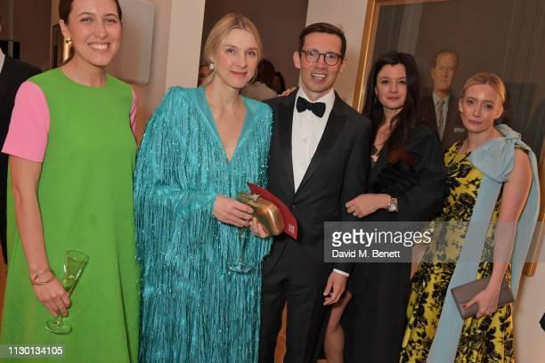 Emilia Wickstead Lady Laura Burlington Erdem Moralioglu Claire Le Marquand and Emma ElwickBates attend The Portrait Gala 2019 hosted by Dr Nicholas...