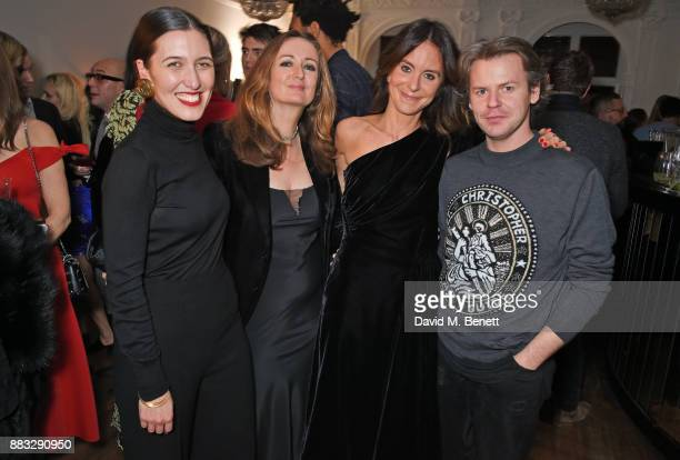 Emilia Wickstead Lucy Yeomans NETAPORTER and MR PORTER President Alison Loehnis and Christopher Kane attend a party hosted by NETAPORTER and MR...