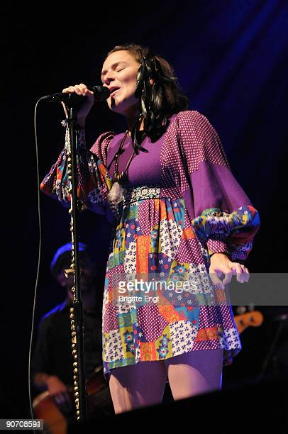 Emiliana Torrini performs at the Royal Festival Hall on September 13 2009 in London England