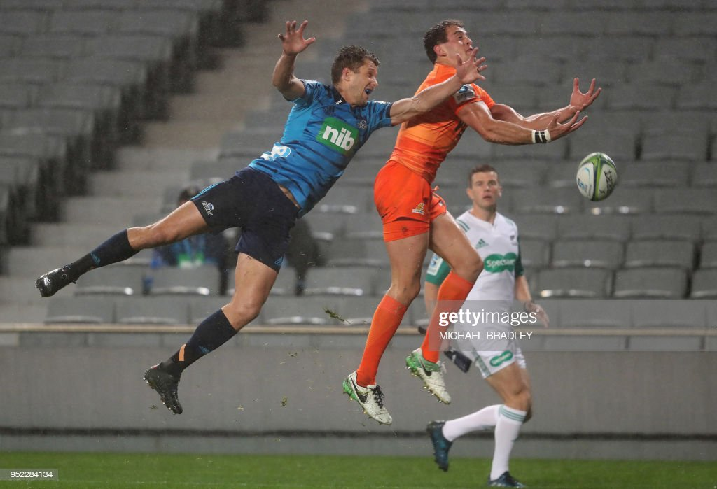 RUGBYU-SUPER-BLUES-JAGUARES : News Photo