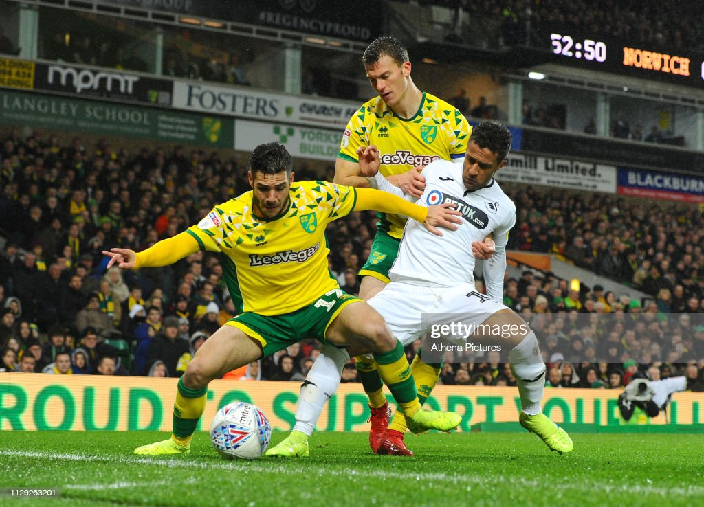 Norwich City v Swansea City - Sky Bet Championship : News Photo