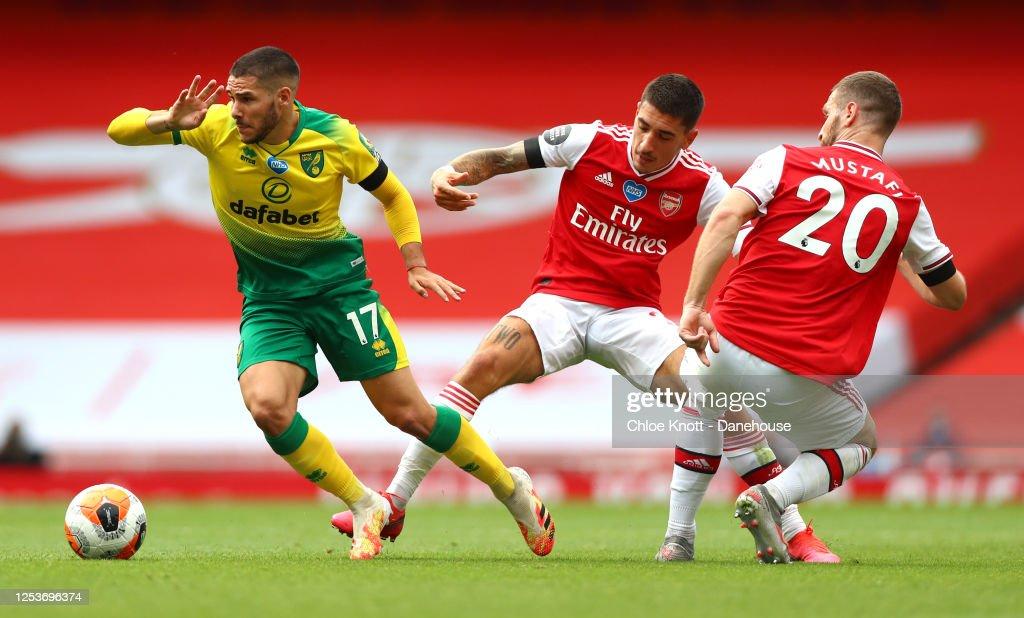 Arsenal FC v Norwich City - Premier League : News Photo