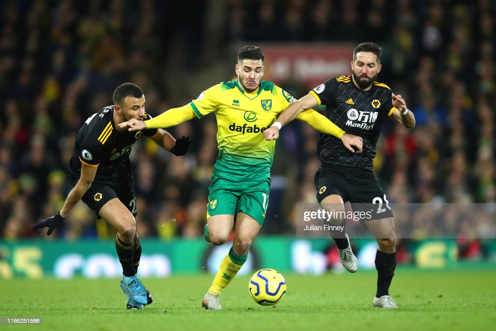 Norwich City v Wolverhampton Wanderers - Premier League : News Photo