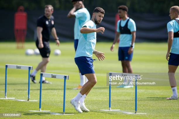Emiliano Marcondes of Bournemouth during a pre-season training session at Vitality Stadium on July 22, 2021 in Bournemouth, England.