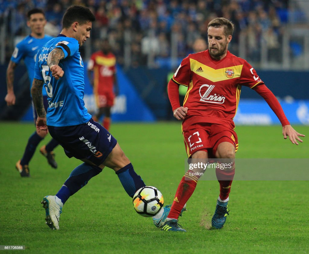 FC Zenit Saint Petersburg vs FC Arsenal Tula - Russian Premier League