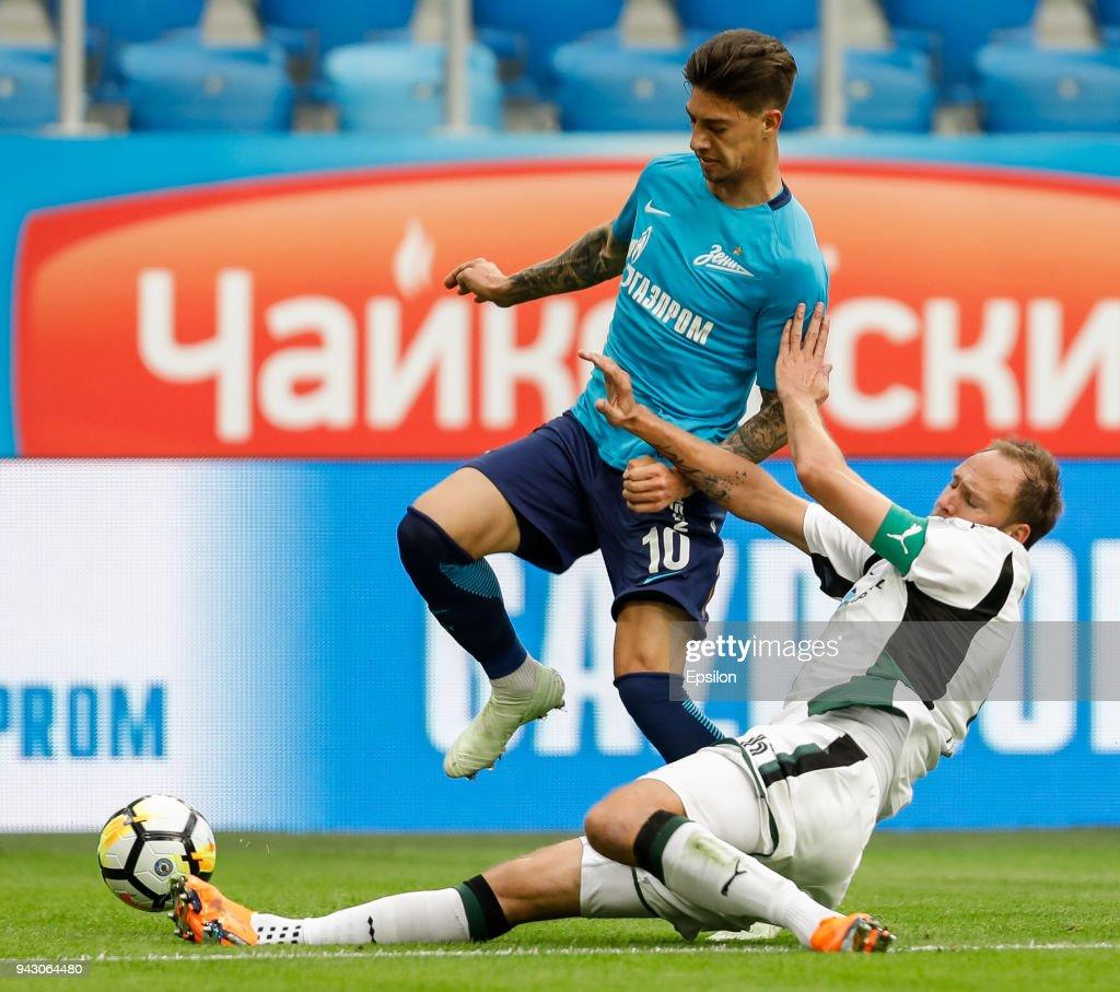 FC Zenit Saint Petersburg vs FC Krasnodar - Russian Premier League