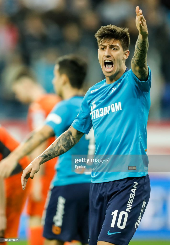 FC Zenit Saint Petersburg vs FC Ural Ekaterinburg - Russian Premier League