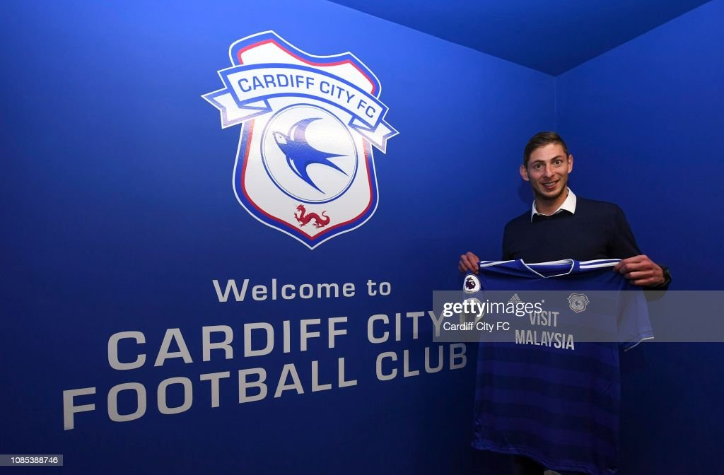 Cardiff City Unveil New Signing Emiliano Sala : News Photo