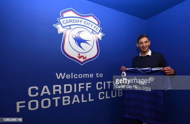 Emiliano Sala on January 18 2019 in Cardiff Wales
