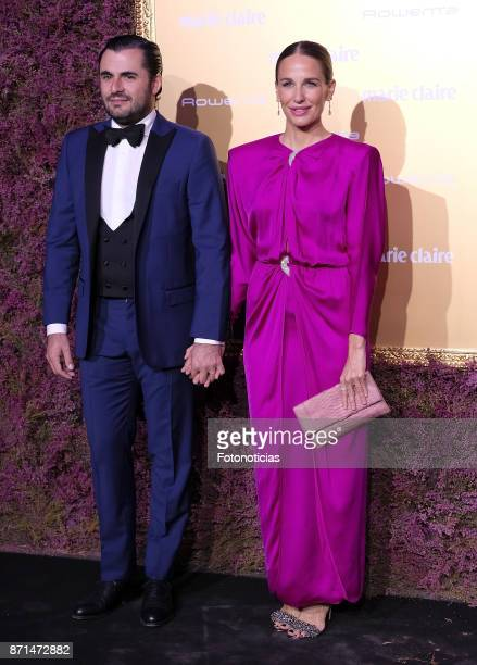 Emiliano Suarez and Carola Baleztena attends the 2017 'Marie Claire Prix de la Mode' at Florida Retiro on November 7 2017 in Madrid Spain