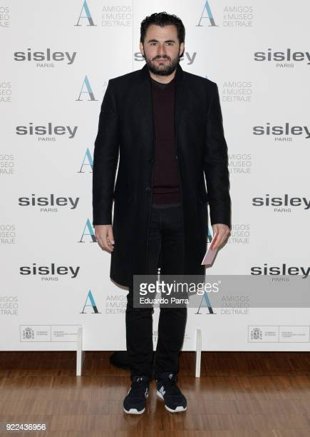 Emiliano Suarez attends the 'El armario de Carmen Lomana' exhibition photocall at Costume museum on February 21 2018 in Madrid Spain