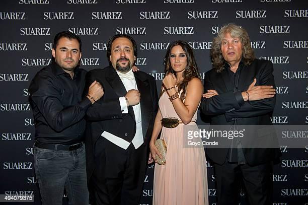 """Emiliano Suarez Jose Manuel Zapata India Martinez Jose Merce attend the photocall at """"Flamenco y Lo Nuestro"""" in the Teatro de La Zarzuela on May 27,..."""