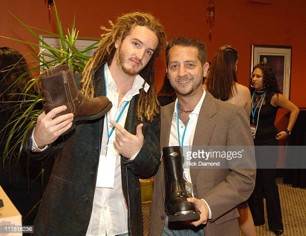 Emiliano Torres and Brad Berman during 2006 Billboard Latin Music Conference and Awards Backstage Creations Talent Retreat Day 2 at Seminole Hard...