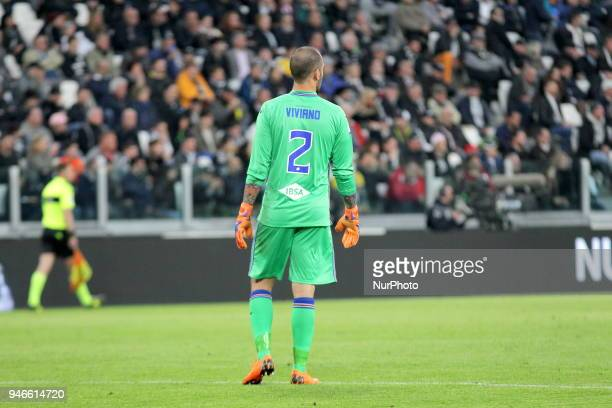 Emiliano Viviano during the Serie A football match between Juventus FC and US Sampdoria at Allianz Stadium on 15 April 2018 in Turin Italy Juventus...