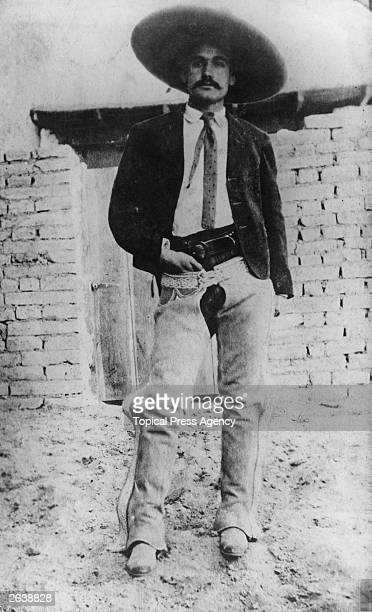 Emiliano Zapata leader of the agrarian rebels in South Mexico