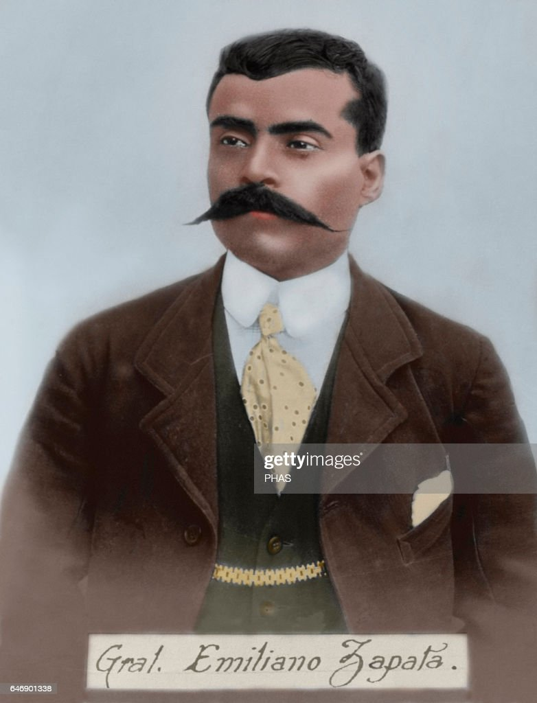 Emiliano Zapata Salazar. : News Photo