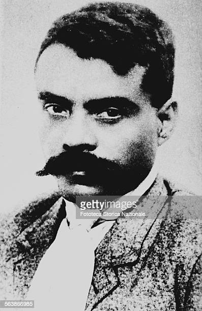 Emiliano Zapata Salazar portrait of the general of the South during the Mexican revolution he was revolutionary political and active in guerrilla...