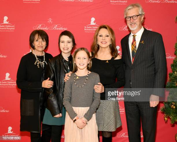 Emilie Antonetti Kennan Charlie Marlo Thomas and Claudio Del Vecchio attend the Brooks Brothers And St Jude Children's Research Hospital Annual...