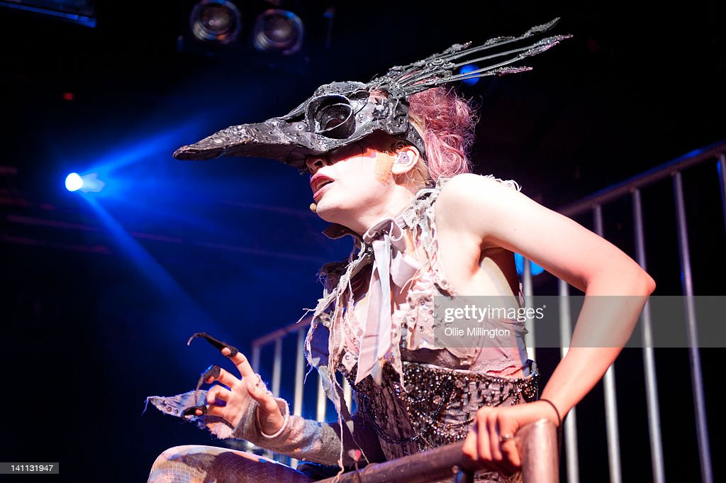 Emilie Autumn Performs At Rock City In Nottingham : News Photo