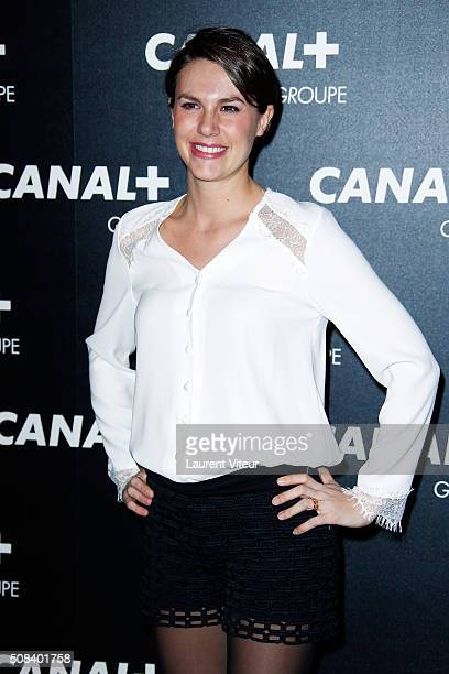 Emilie Besse attends the 'Canal Animators' Party At Manko on February 3 2016 in Paris France