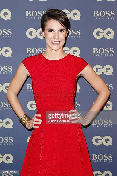Emilie Besse attends the GQ Men Of The Year Awards 2014 at Musee d'Orsay on November 19 2014 in Paris France