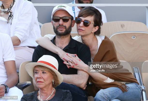 Emilie Caen attends day 6 of the 2019 French Open at Roland Garros stadium on May 31, 2019 in Paris, France.