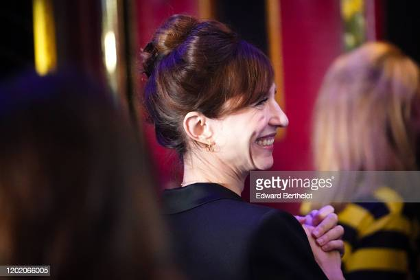 "Emilie Caen attends the ""Ducobu 3"" Premiere At Le Grand Rex on January 26, 2020 in Paris, France."