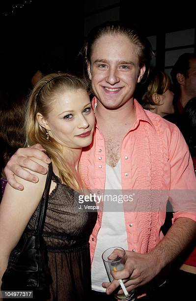 Emilie de Ravin and Ben Foster during Maxim Hot 100 Party Inside at Yamashiro in Hollywood California United States