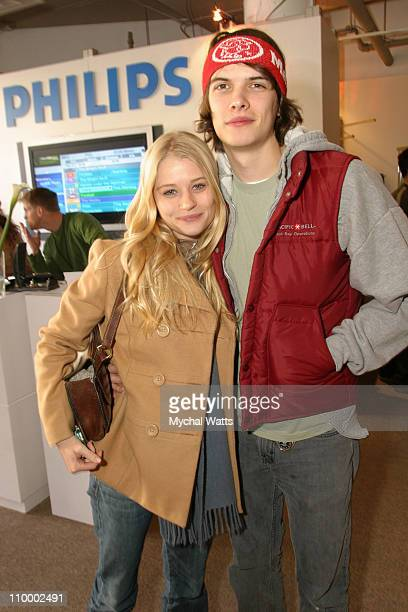 Emilie de Ravin and Josh Janowicz at Philips during 2005 Park City Philips at Village at the Lift at Village at the Lift in Park City Utah United...