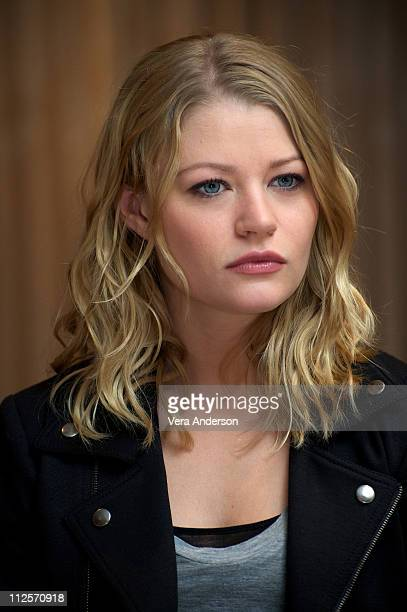 Emilie de Ravin at the Remember Me press conference at the Lowe's Regency on February 27 2010 in New York City