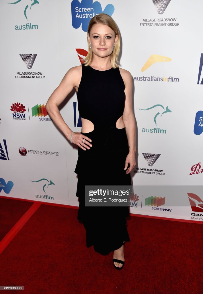 Emilie de Ravin attends the 6th Annual Australians in Film Award & Benefit Dinner at NeueHouse Hollywood on October 18, 2017 in Los Angeles, California.