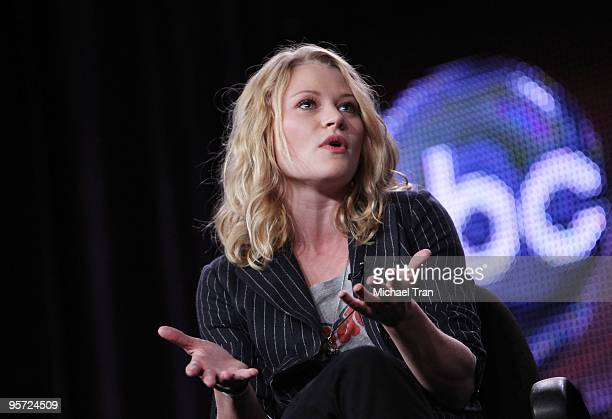 Emilie de Ravin attends the ABC and Disney Winter Press Tour held at The Langham Resort on January 12 2010 in Pasadena California