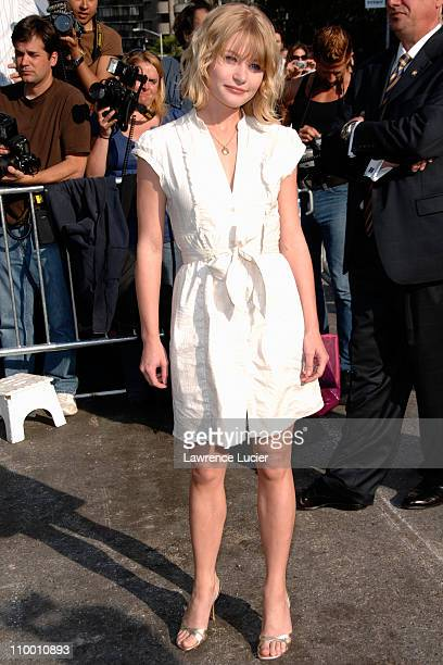 Emilie de Ravin during 2007 ABC Network UpFront at Lincoln Center in New York City New York United States