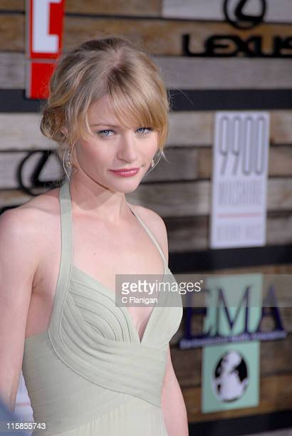 Emilie de Ravin during EMA E Golden Green Party at 9900 Wilshire Blvd in Beverly Hills California United States