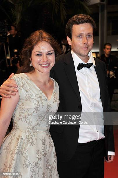 Emilie Dequenne and Michel Ferracci at the premiere for The Angel's share during the 65th Cannes International Film Festival